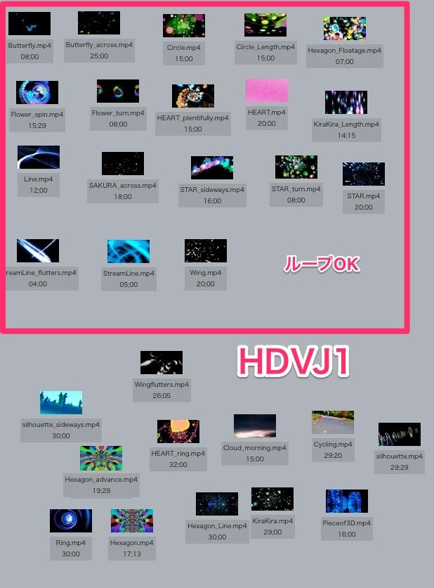MovieMaterial HDVJ フルハイビジョンVJ動画素材集 画像7
