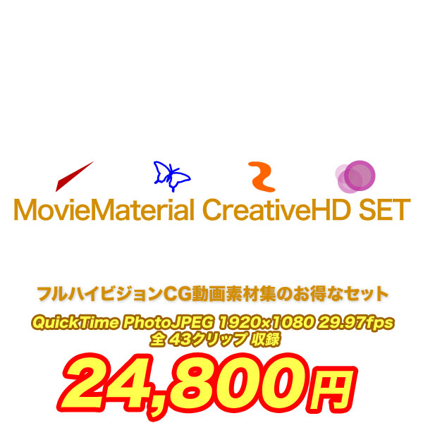 MovieMaterial Creative SET