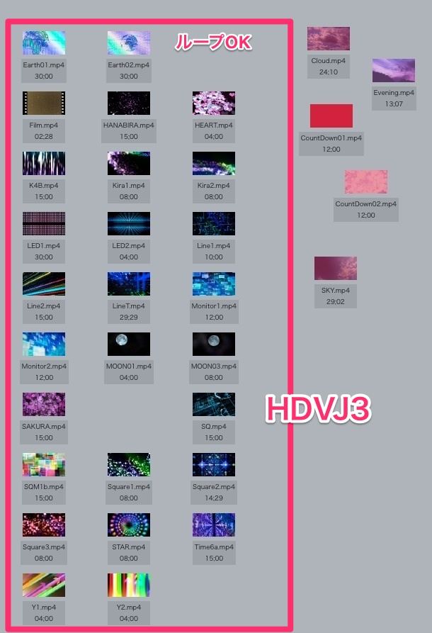 MovieMaterial HDVJ3 フルハイビジョンVJ動画素材集 画像11