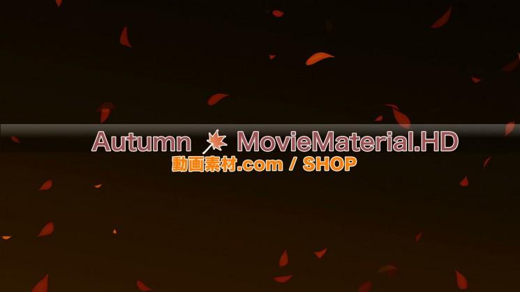 秋を題材にした実写映像素材とCG動画素材【Autumn MovieMaterial】12