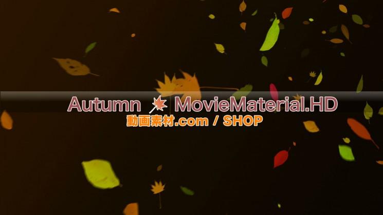 秋を題材にした実写映像素材とCG動画素材【Autumn MovieMaterial】10