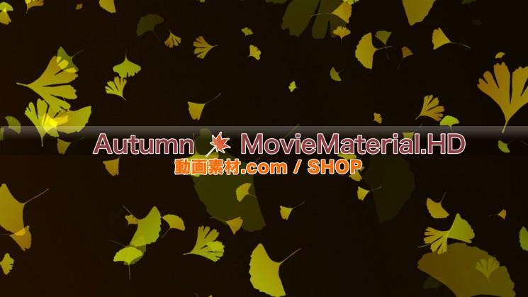 秋を題材にした実写映像素材とCG動画素材【Autumn MovieMaterial】8
