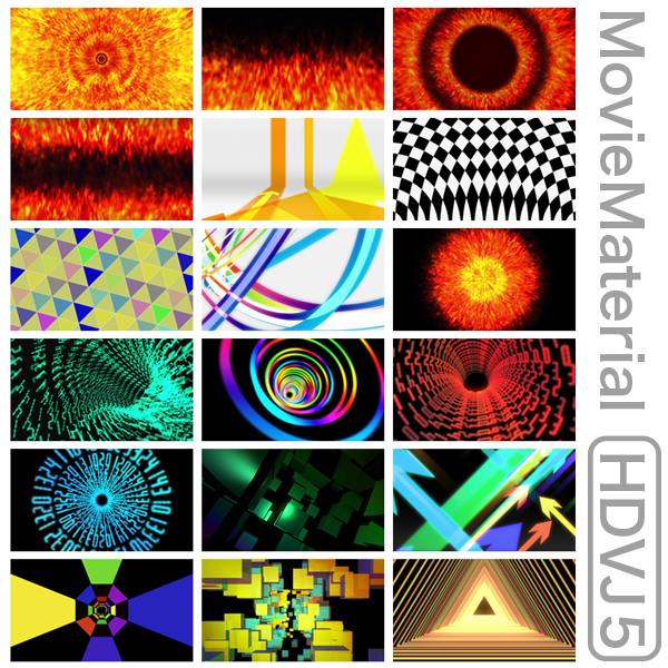 MovieMaterial HDVJ5 フルハイビジョンVJ動画素材集 画像9