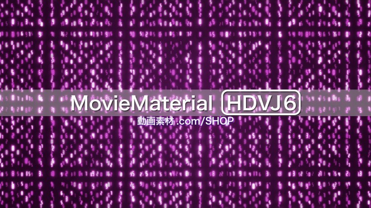 【MovieMaterial HDVJ6】フルハイビジョン動画素材集30