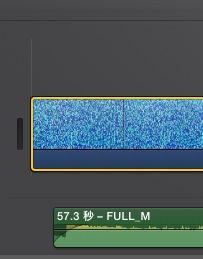 iMovie(ver.10)を使う1【動画素材123FULL】ムービーと音楽配置10