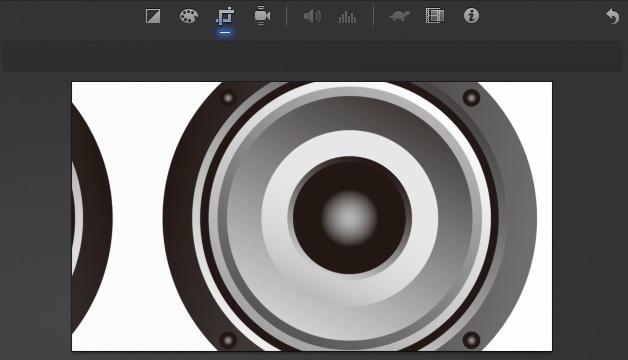 iMovie(ver.10)を使う4【動画素材123FULL】色の調整・回転・トリミング・ビデオエフェクト23