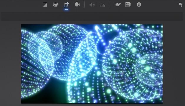 iMovie(ver.10)を使う4【動画素材123FULL】色の調整・回転・トリミング・ビデオエフェクト20