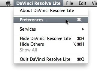 davinci resolve lite を使ってみる(セッティング・素材の読み込み・編集・レンダリング)7