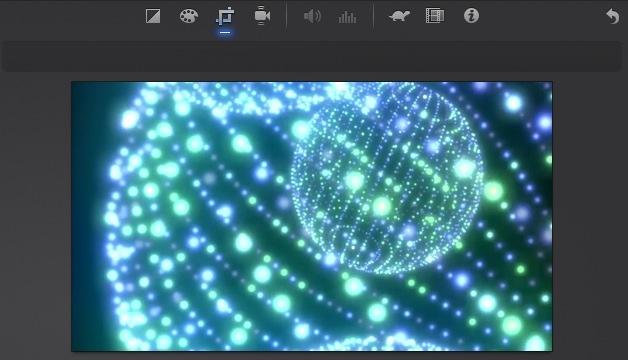 iMovie(ver.10)を使う4【動画素材123FULL】色の調整・回転・トリミング・ビデオエフェクト19