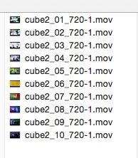 複数ファイル名の変更方法(OS X 10.10 Yosemite)1