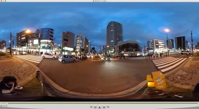 【THETA S】360°動画撮影・編集・YouTubeアップまで。編集してYouTubeにアップ編23