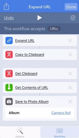 iPhoneで.movのファイルをダウンロードして保存「Workflow・iOS」18