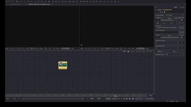 【Kodak PIXPRO SP360 4K】で撮ったVR映像を【Fusion8 BETA】で展開する【Blackmagic Design】8