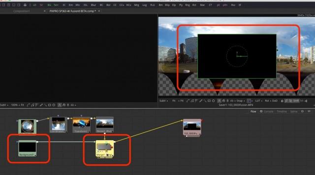 【Kodak PIXPRO SP360 4K】で撮ったVR映像を【Fusion8 BETA】で展開する【Blackmagic Design】39