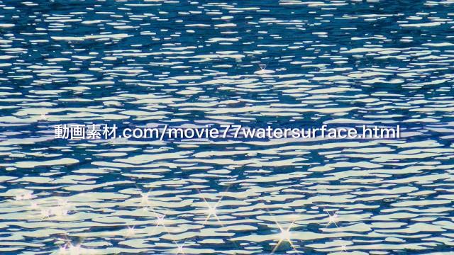 水面キラキラ動画素材02