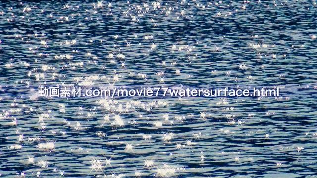 水面キラキラ動画素材10