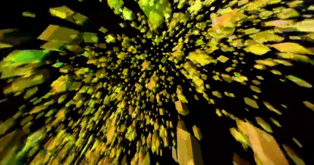 VR(360)上半球 動画素材08
