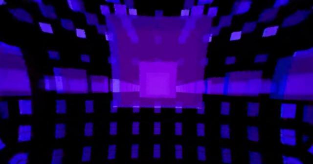 VR(360)上半球 動画素材09