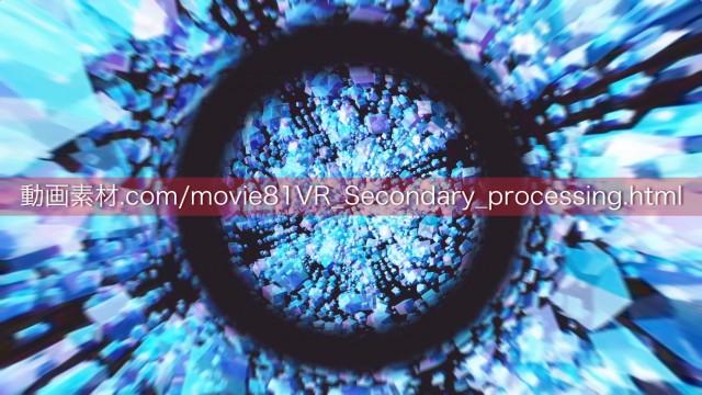 VR素材から制作した動画素材01