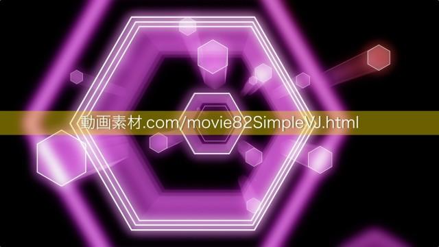 シンプルVJ動画素材09