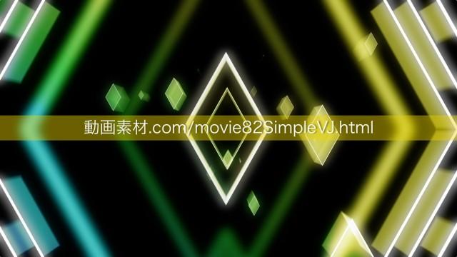 シンプルVJ動画素材08