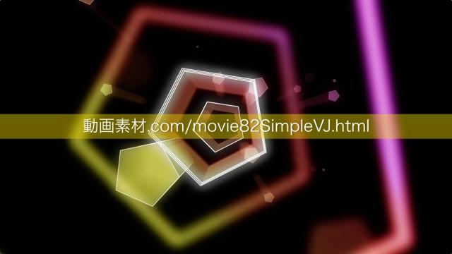 シンプルVJ動画素材06