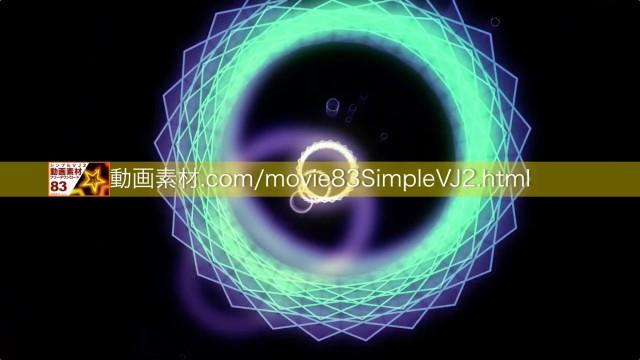 SimpleVJ2-0007動画素材