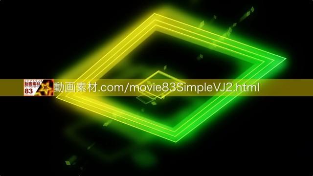 SimpleVJ2-0009動画素材