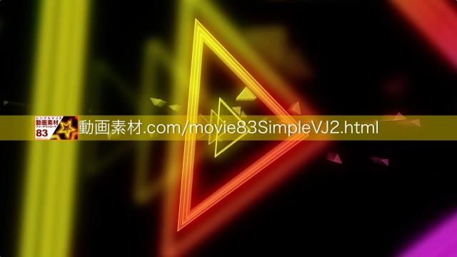 SimpleVJ2-0010動画素材