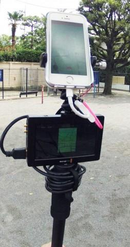 ポケモンGOをキャプチャーで撮る【Blackmagic Video Assist】ゲームアプリの音と自分の声を一緒に録る02