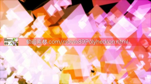 89polyhedron04動画素材