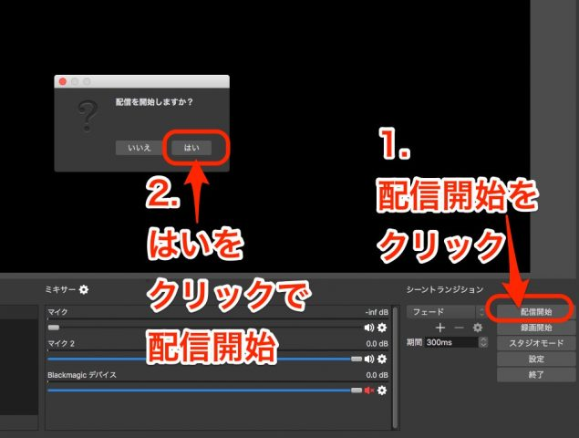 【OBS】HDMI出力→Mac→YouTubeライブストリーミング【Nintendo Switch】09