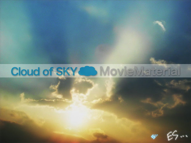 Cloud of SKY MovieMaterial